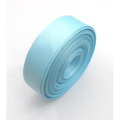 Grosgrain cinta; 20mm de ancho; Azul claro; 10metre roll