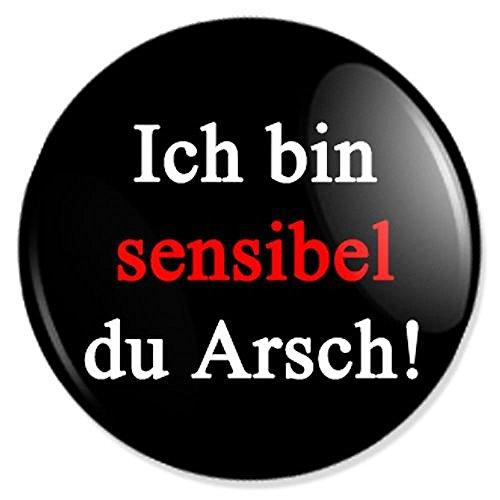 Ich bin sensibel Button, Badge, Anstecker, Anstecknadel, Ansteckpin