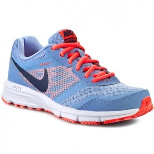 Nike - Air Relentless 4, Sneakers da donna Azul (almnm/mid nvy-brght crmsn-whit)