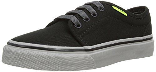 Vans 106 Vulcanized, Sandales mixte enfant Noir (Black/Charcoal/Neon Yellow)
