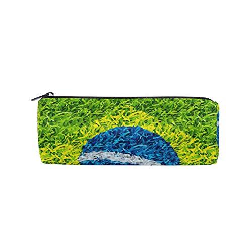 Montoj Federmäppchen/Kosmetiktasche, Motiv Fußballstadion Brasilien (Münze Brasilien)