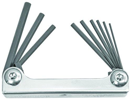 Bondhus 2.0Metall 14591Griff Hex Spitze 9Stück Fold bis Werkzeug mit Proguard Finish (Bondhus Gorilla Grip)