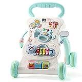 BABIFIS Lauflernwagen für Kleinkinder Anti-Überschlag Einstellbare Geschwindigkeit Zu Fuß Baby 6-7-18 Monate 1-jähriges Spielzeug