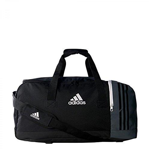 adidas Tiro Teambag M Sporttasche, 56 Liter, schwarz/grau