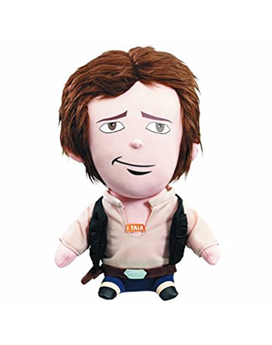 Star Wars SW01887 Han Solo Premium Talking Plush Toy (Medium)