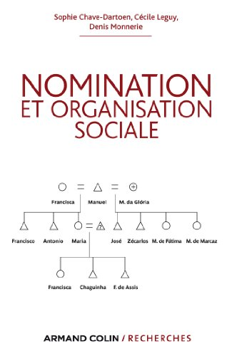 En ligne téléchargement gratuit Nomination et organisation sociale (Armand Colin / Recherches) epub pdf