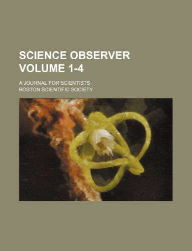 science-observer-volume-1-4-a-journal-for-scientists