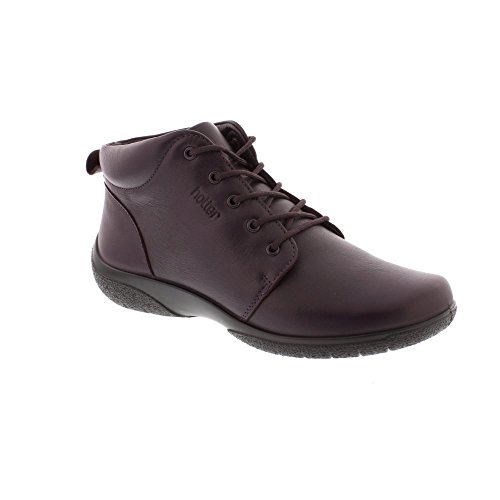 Hotter Ellery - Plum Leather (Purple) Womens Boots 5.5 UK