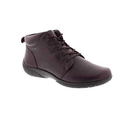 Hotter Ellery - Plum Leather (Purple) Womens Boots 5.5 UK