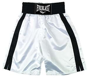 Everlast Erwachsene Boxen - Shorts, Weiß/Schwarz, S, 4413