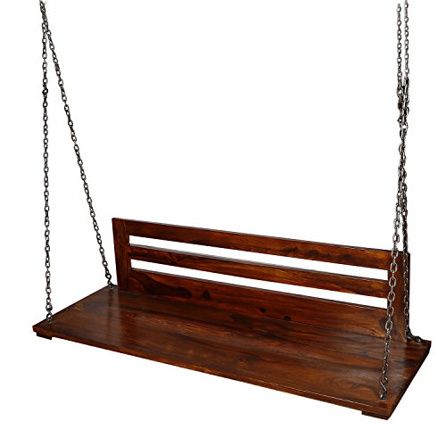 Thar Handicrafts Bangalore Swing With Back Plane Design