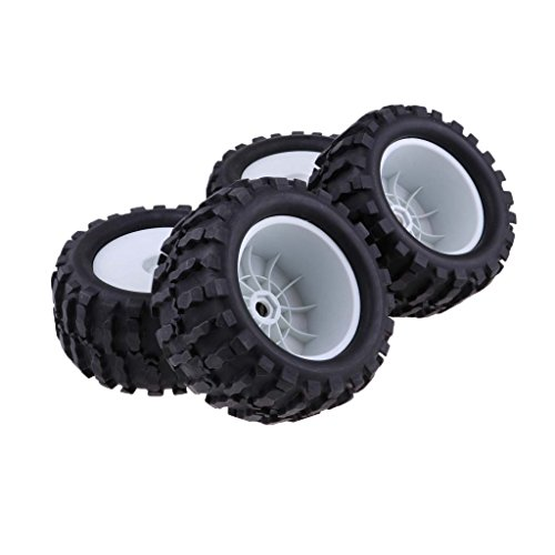 Homyl-4-Pezzi-160mm-RC-18-Pneumatico-Con-Cerchione-Per-18-HSP-HPI-RC4WD-AXIAL-RC-Vehicle