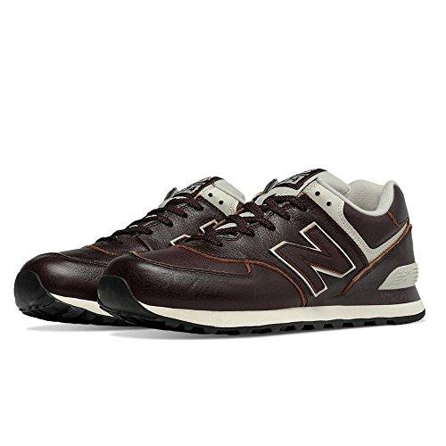 New Balance Ml574lua-574, Chaussures de Running Entrainement Homme Marron/crème