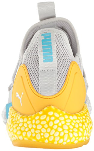 Puma Men s Hybrid Rocket Runner Cross Trainer  Peacoat-Iron Gate-Spectra Yellow  12 UK