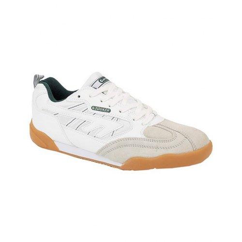 Hi-Tec Sports Squash Classic, Unisex - Erwachsene Hallensneaker Weiß