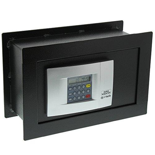 Burg-Wächter Wandtresor mit elektronischem Zahlenschloss, PointSafe PW 2 E, Schwarz