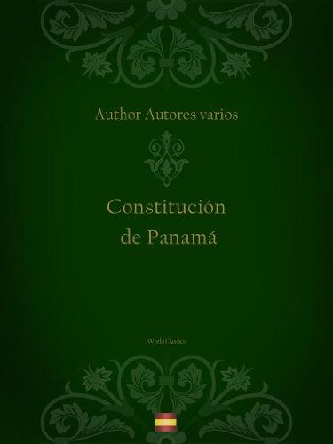 Constitución de Panamá por Autores varios