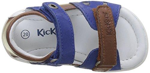 Kickers Soan, Sandales Bébé Garçon Marron (Camel Bleu)