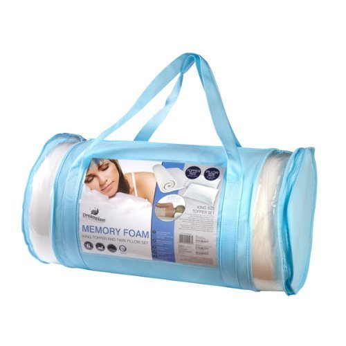 Dreamtime King size Memory Form Topper & Pillow set-bag by DreamTime