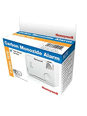 Honeywell XC70-EN Battery Operated Carbon Monoxide Detector