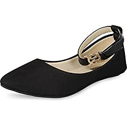 Babes Women'S Black Ballerina -5 Uk