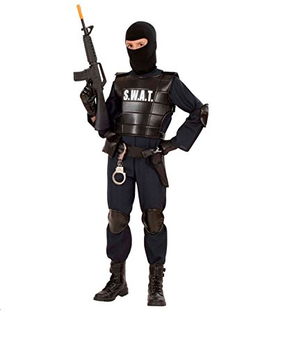 KOSTÜM - S.W.A.T. - Größe 50 (M), Uniformen CIA FBI Spezialeinheiten Spezial Polizei Police (Fbi Männer Halloween Kostüm)
