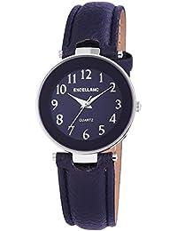 Excellanc llanc Mujer Reloj con piel imitations pulsera