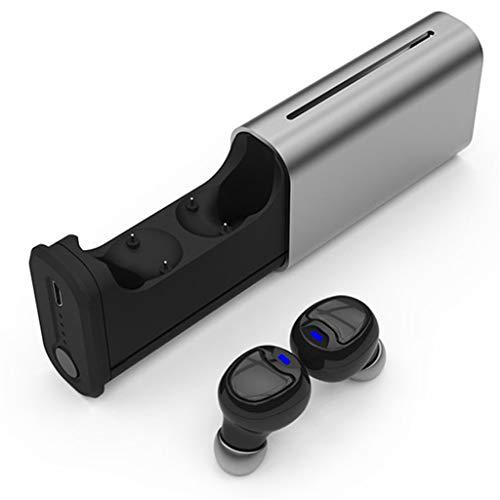 Auricolare Bluetooth,Vero Auricolare Bluetooth Stereo Con Modalità Privata Binaurale Wireless Tws Bluetooth 5.0