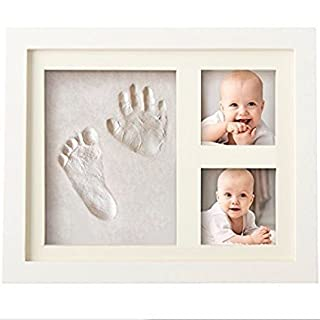 Vinallo Best BABY HAND & FOOTPRINT PICTURE FRAME KIT for Boys and Girls Memorable Keepsakes Decorations