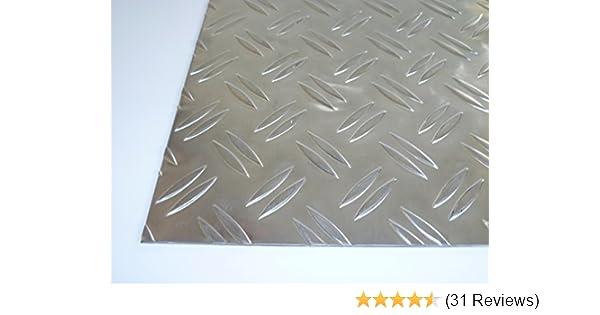 50,0mm stark Gr/ö/ße 100 x 250 mm 10 x 25 cm B/&T Metall Aluminium Platte blank gewalzt natur