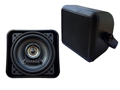 Hifonics Auto Aufbau 200 Watt Lautsprecher bestens geeignet für Wohnmobile Camping Womo Caravan