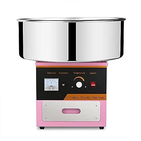 Chaneau Machine à Barbe à Papa Professionnelle 1000w Cotton Candy Machine 20,5 Pouces Machine à Barbe (Machine à Barbe)