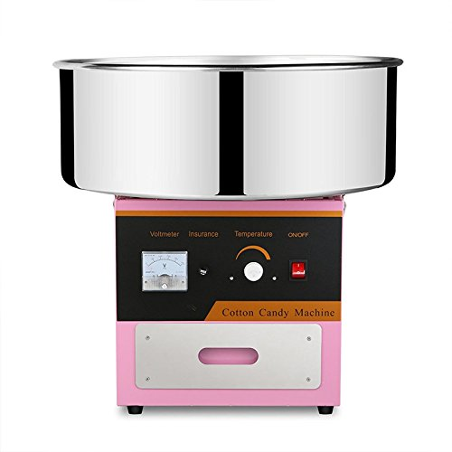Chaneau Machine à Barbe à Papa Professionnelle 1000w Cotton Candy Machine 20,5 Pouces Machine à Barbe (Machine à Barbe)