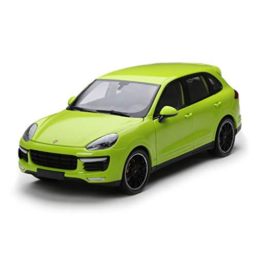 GYZS-TOY Mini Cut Minichamps 1:18 Porsche Cayenne Turbo Alliage Simulation Modèle De Voiture Cadeaux (Couleur : Green)