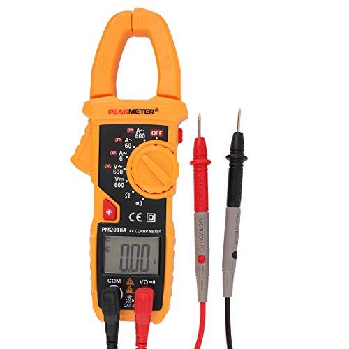 sourcingmap® PM2018A Digitalmultimeter Ammeter Spannung Widerstandsmessgerät Strommesszange Prüfgerät