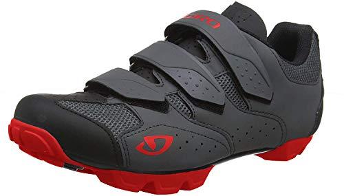 Giro Unisex- Erwachsene Carbide R II MTB Trail Cyclocross Schuhe, Black/red, 49