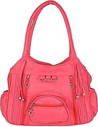 7534b1e6fd1 Mango Star casual designer Queen Pink Shoulder Handbag for Girls/Women  (office/collage