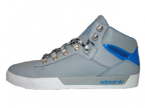 Adidas Originals Attitude Vulc West Schuhe EUR 40 - 47 High Top Sneaker Stiefel, Grau, 40.5 EU