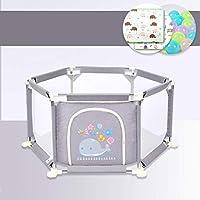 LFY Barrière de sécurité pour Bambin de Tapis de Jardin d'intérieur de Parcs de bébé de bébé de ménage