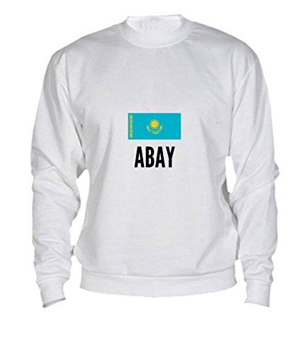 Felpa Abay city White
