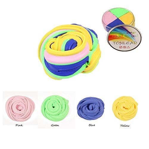 Fluffy Floam Schleim – 7 Oz Stress Relief Spielzeug Genießen Sie den Spaß mit Super-Fun Aisige nicht-klebrig duftenden riesigen flauschigen Schleim