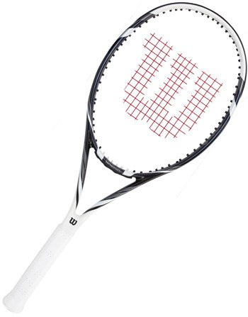 Wilson Six.Two TNS RKT W/O Raqueta de Tenis, Unisex Adulto, Negro/Blanco (Black/White), 2