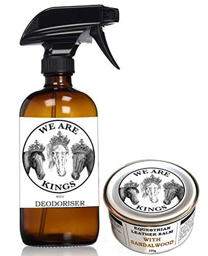 150g Flaschen (Deodorisierender Reiniger und Tiefenpflege-Balsam für Reitleder,