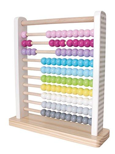 """JaBaDaBaDo """"Abacus"""" Zählrahmen Rechenhilfe Holzspielzeug Kinderzimmer Deko Pastell ausgefallen"""