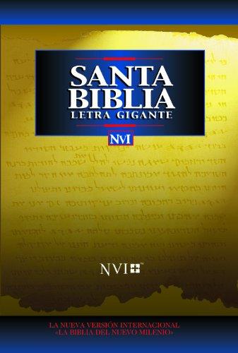 Descargar Libro NVI Santa Biblia Letra Gigante de Zondervan