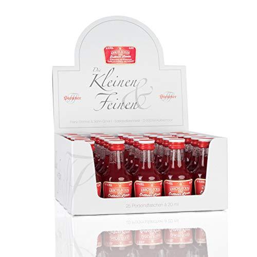 Partypack Erdbeerlimes Original Sepp Bumsinger's Arschlecken 350 - Erdbeer-Likör auf Wodkabasis 25 x 2 cl 16% vol.