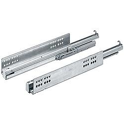 Hettich Quadro V6 Full Extn. drawer slide with Silent System 30 kgs 500 mm (20