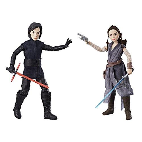 Star Wars Figura, diseño de Rey de Jakku y Kylo Ren