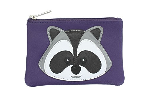 Leather Bad Helix Leather Collection Purse 4152_98 Purple
