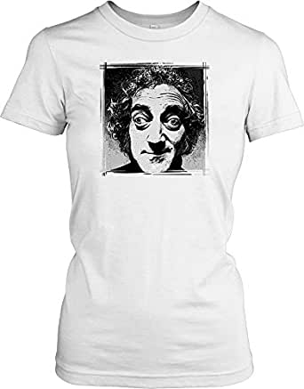 Marty Feldman - Hollywood Legend Ladies T Shirt - white - Ladies - 08